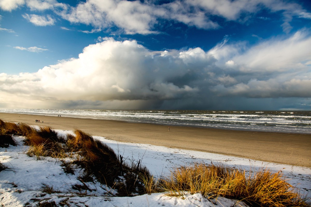 Strand Ameland in de winter copy
