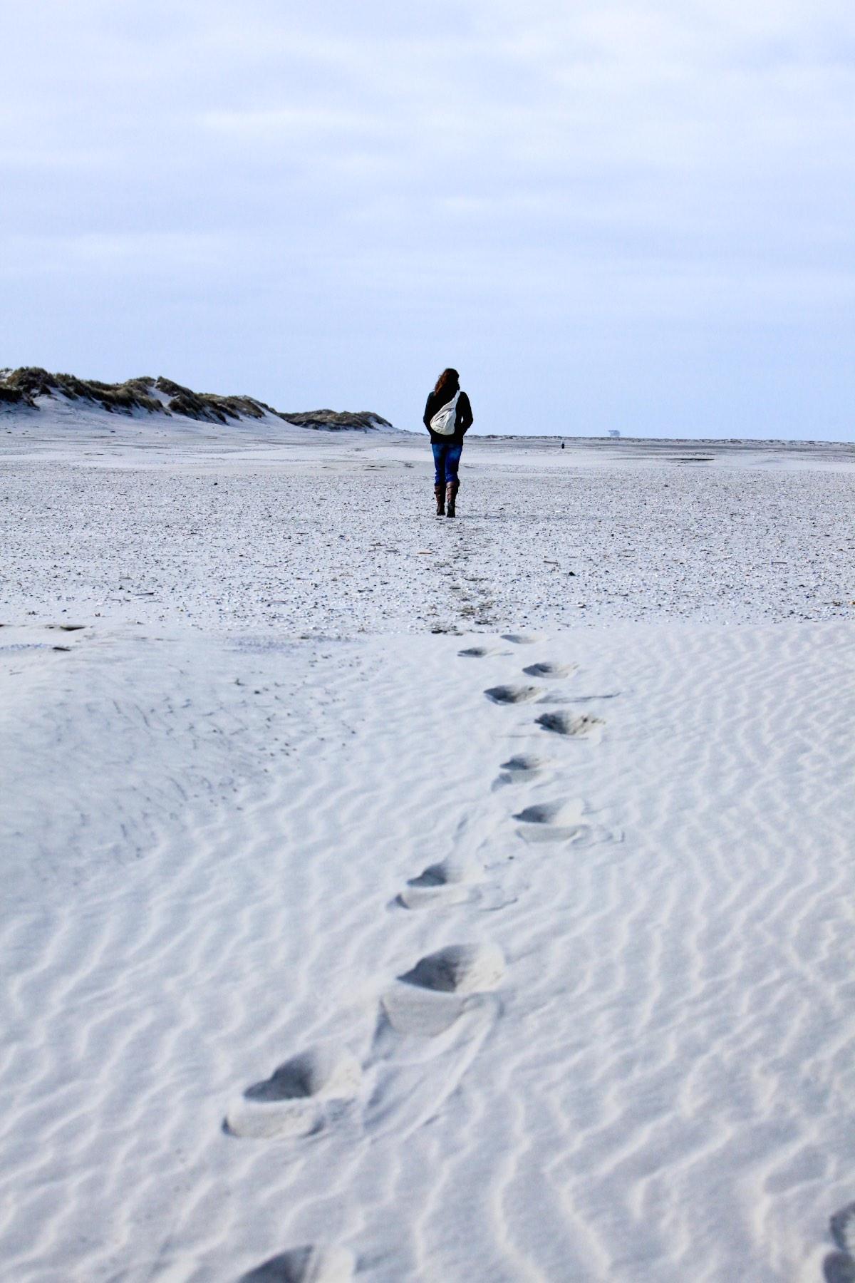 lege strand op de oostpunt van Ameland copy