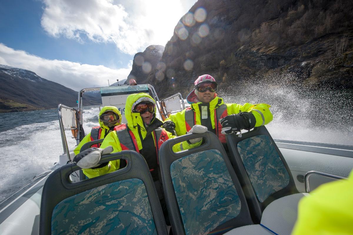 Noorwegen_De Rib Boat ervaring in het Fjord