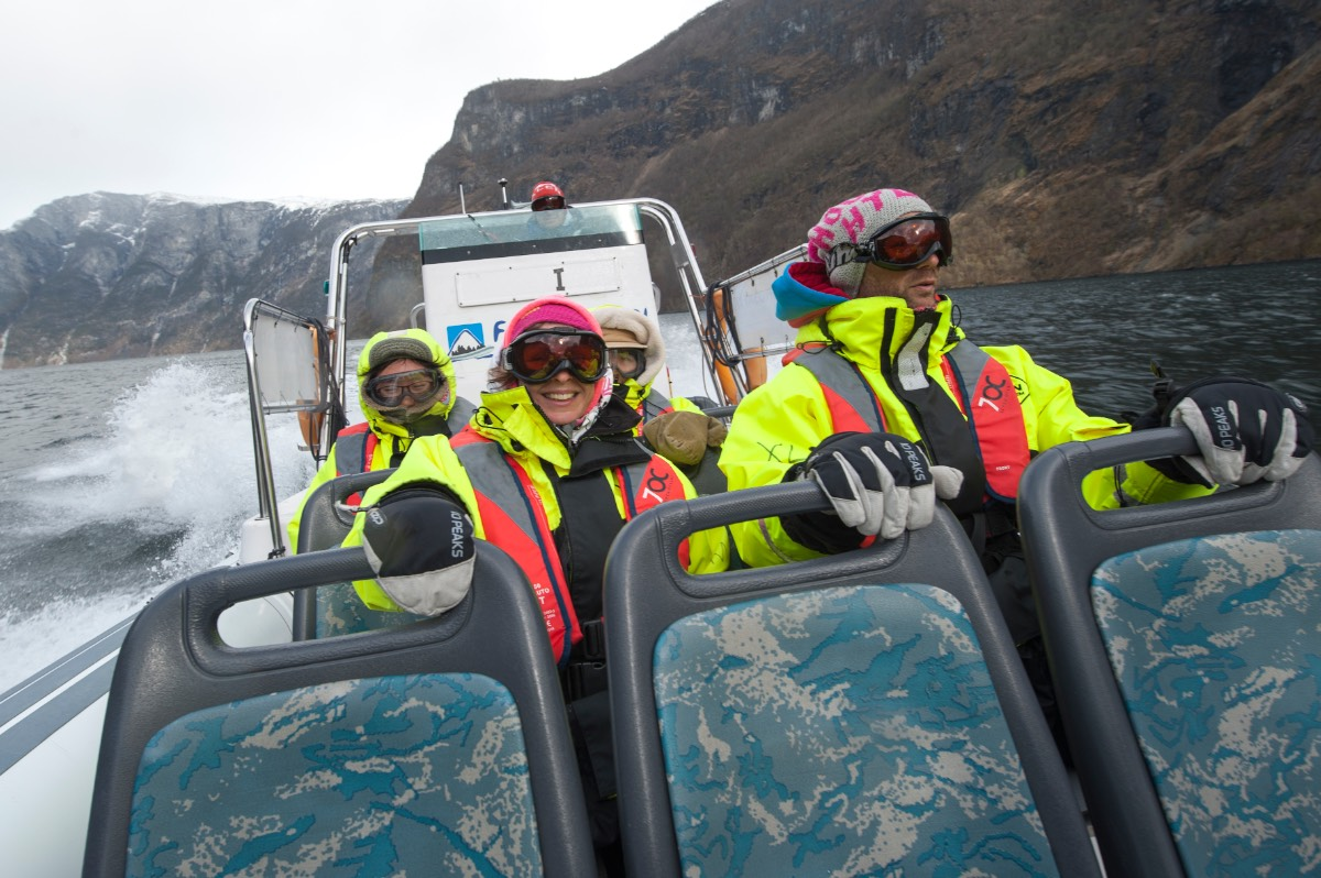 Noorwegen_De Rib Boat ervaring in het Fjord 2