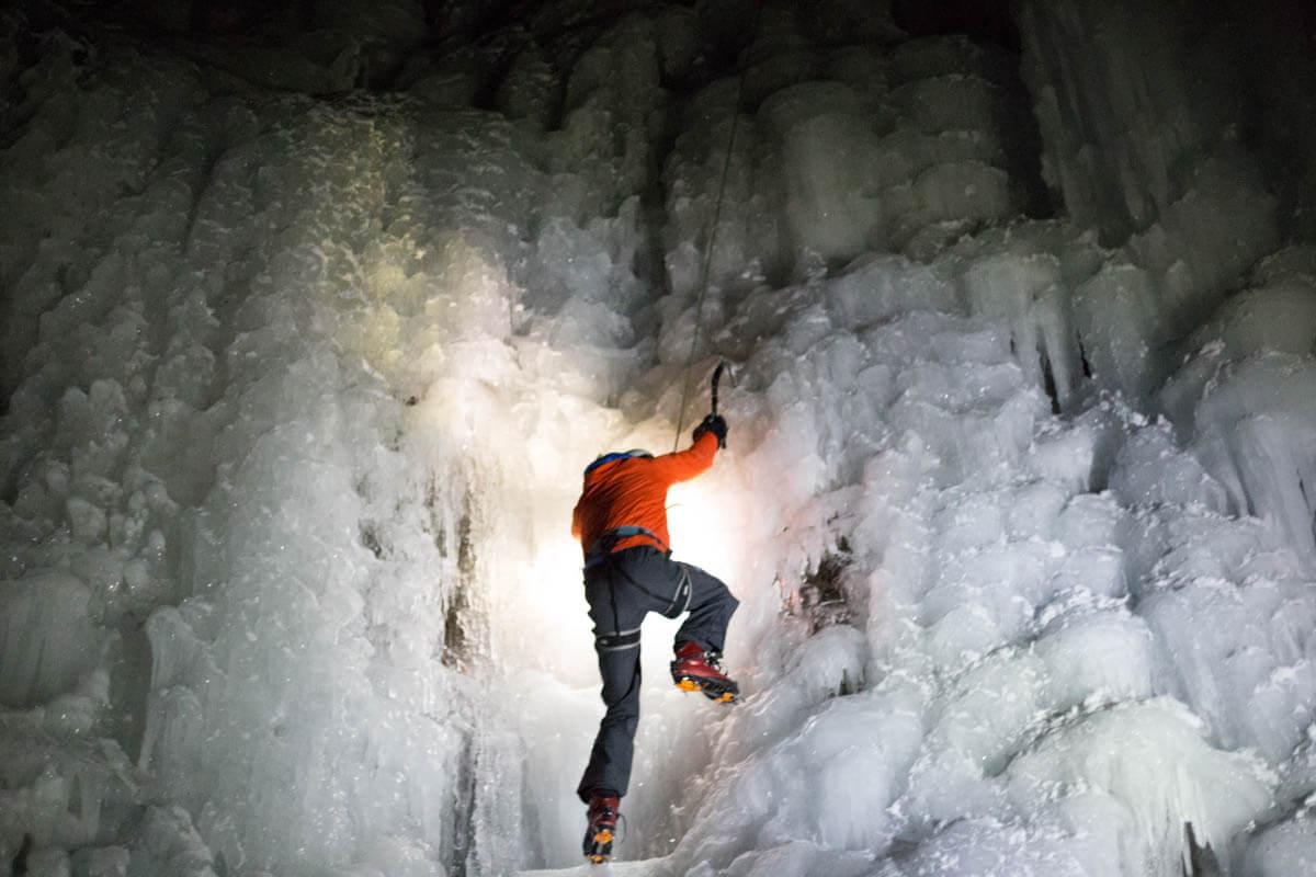 ijsklimmen Alberta