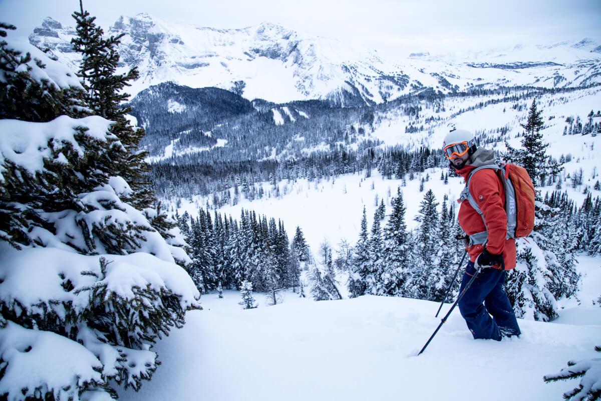 uitzicht op Sunshine Banff