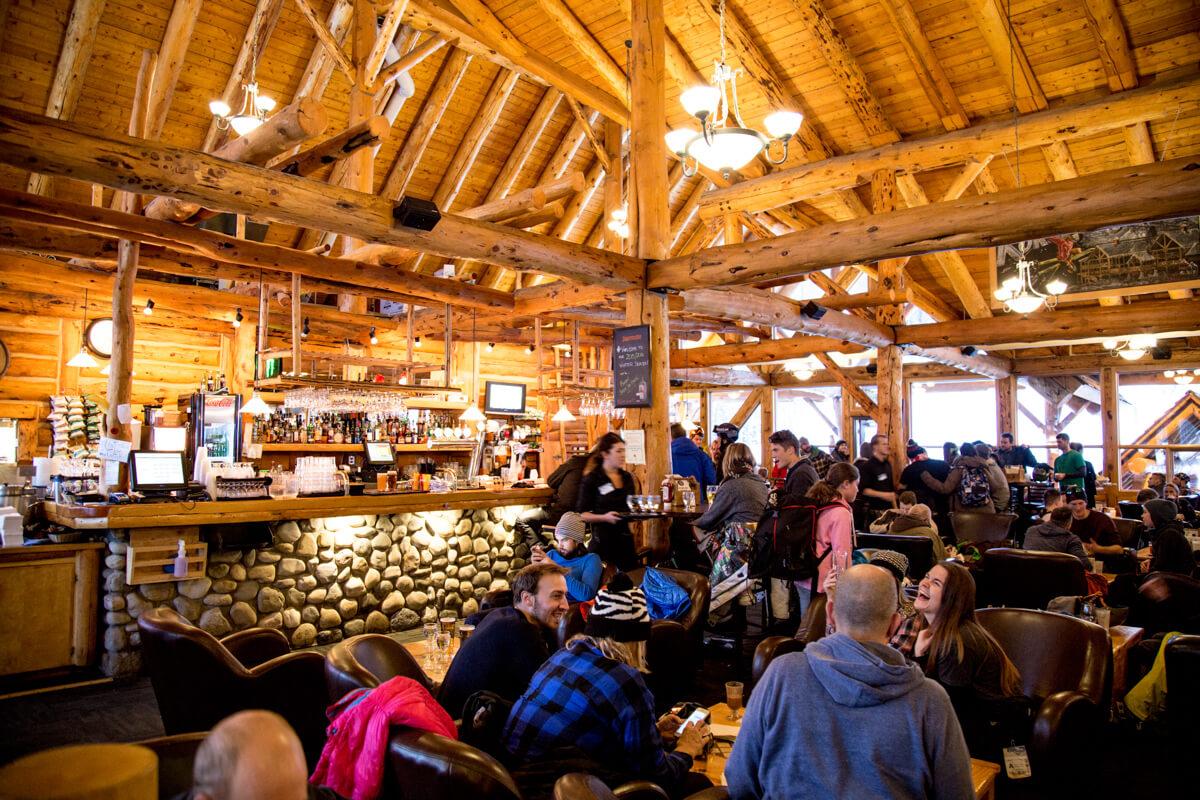 apres ski in Alberta