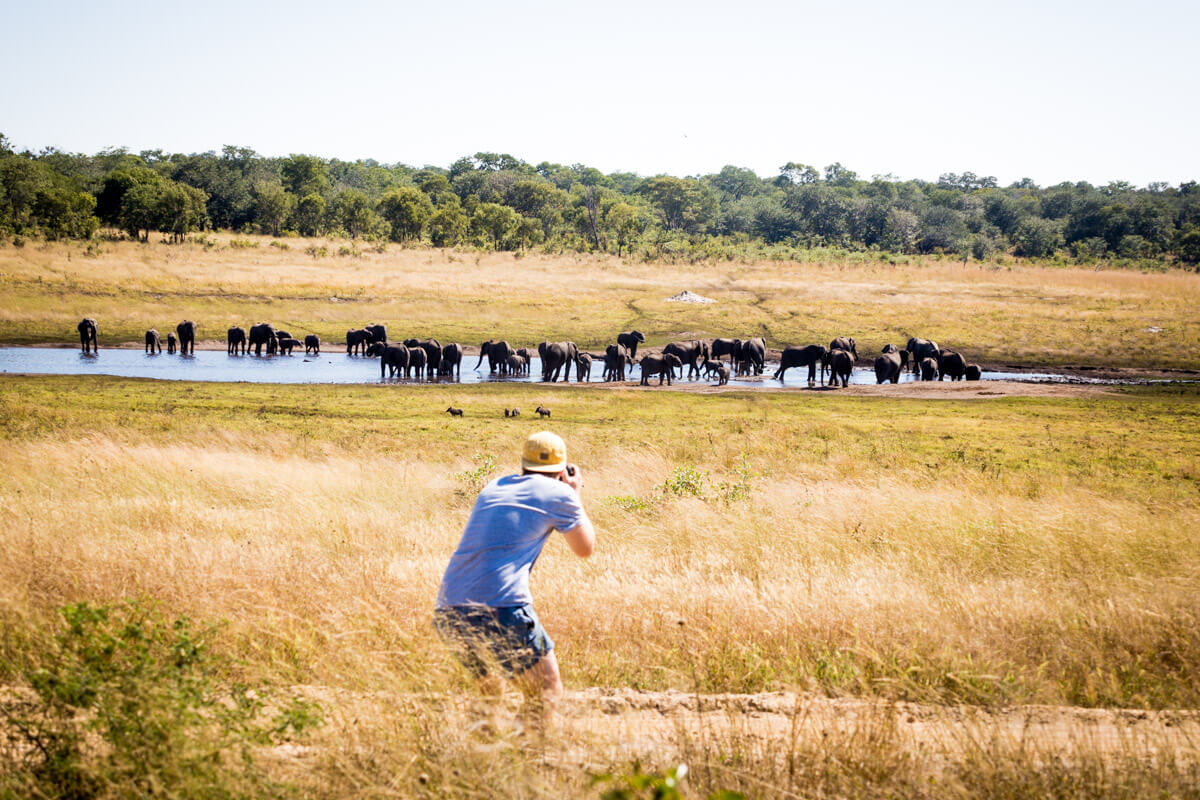 Zimbabwe reizen Sable Sands