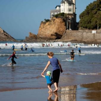 op het strand van  de Cote des Basques in Biarritz copy_Euskadi.jpg