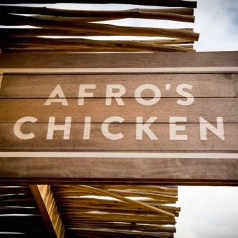 Afros chicken 4 koffie