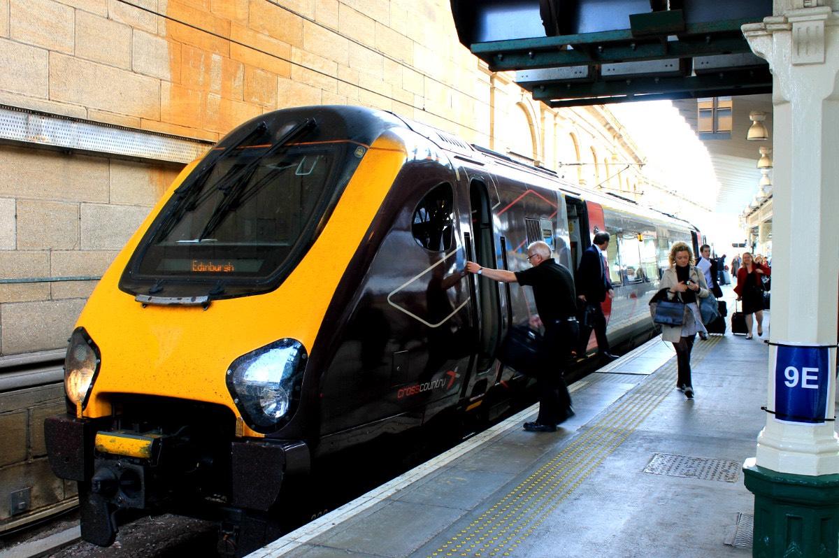 trein van Edinburgh naar Inverness